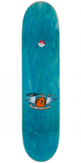 """Toy Machine Fists Skateboard Complete - Black Stain - 7.75"""""""