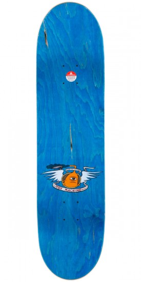 Toy Machine Fists Skateboard Deck - Large - Blue Stain - 8.25""