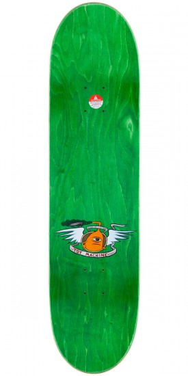 """Toy Machine Fists Skateboard Deck - Large - Green Stain - 8.25"""""""
