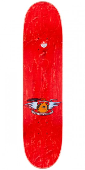 Toy Machine Fists Skateboard Deck - Brown Stain - 7.75""