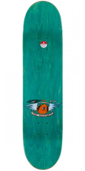 """Toy Machine Fists Skateboard Deck - Teal Stain - 7.75"""""""