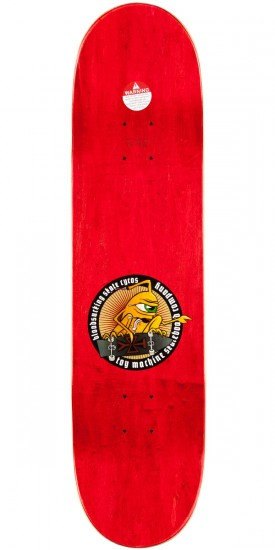 """Toy Machine Leabres Peace Pipe Skateboard Deck - 8.25"""""""