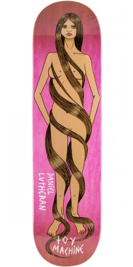 Toy Machine Lutheran Long Hair Skateboard Deck - 8.125""