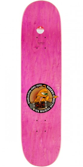 """Toy Machine Lutheran Long Hair Skateboard Complete - 8.125"""""""