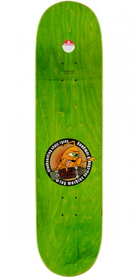Toy Machine Lutheran Pearce Skateboard Deck - 8.375""