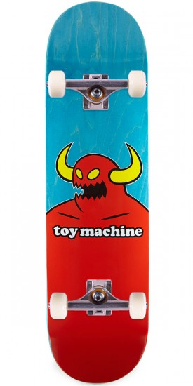 Toy Machine Monster Skateboard Complete - X-Large - Blue Stain - 8.50""
