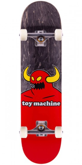Toy Machine Monster Skateboard Complete - Black Stain - 7.75""
