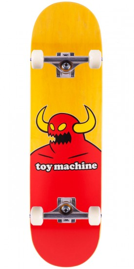Toy Machine Monster Skateboard Complete - X-Large - Yellow Stain - 8.50""