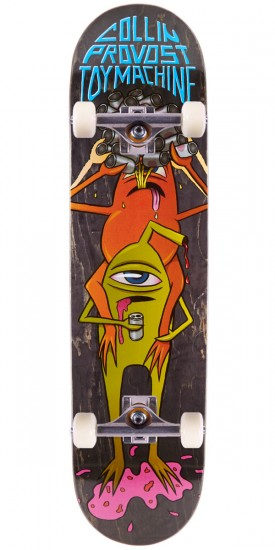"Toy Machine Provost Beer Guzzler Skateboard Complete - 8.125"" - Black Stain"