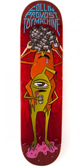 "Toy Machine Provost Beer Guzzler Skateboard Deck - 8.125"" - Blem"