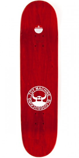 "Toy Machine Provost Beer Guzzler Skateboard Complete - 8.125"" - Red Stain"