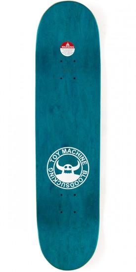 Toy Machine Provost Beer Guzzler Skateboard Deck - 8.125 - Teal Stain