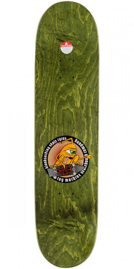 Toy Machine Romero Scraps Skateboard Deck - 8.125""