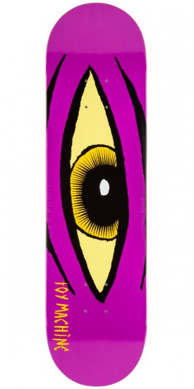"Toy Machine Sect Eye Skateboard Deck - 8.125"" - Purple - Blem"