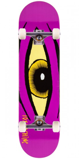 "Toy Machine Sect Eye Skateboard Complete - 8.125"" - Purple - Blem"