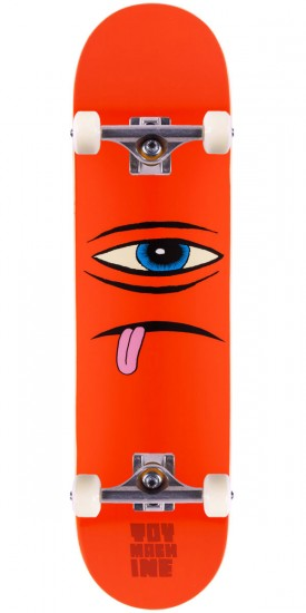 Toy Machine Sect Face Skateboard Complete - Orange - 7.875""