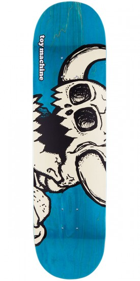 """Toy Machine Vice Dead Monster Skateboard Deck - Blue Stain - 8.25"""""""