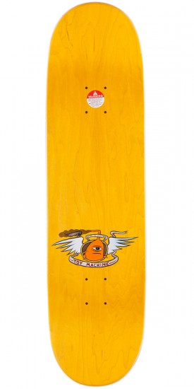 Toy Machine Dead Vice Monster Skateboard Deck - Brown Stain