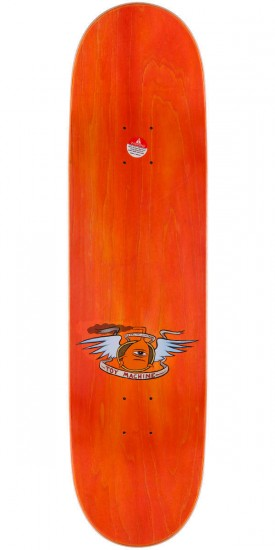 Toy Machine Vice Dead Monster Skateboard Deck - Orange Stain