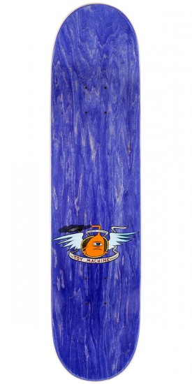 Toy Machine Vice Monster Skateboard Deck - Purple - 7.75""