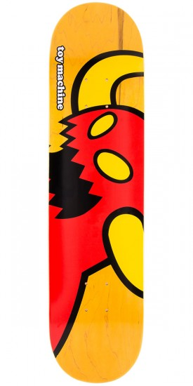 Toy Machine Vice Monster Skateboard Deck - Yellow - 7.75""