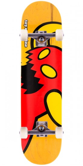 Toy Machine Vice Monster Skateboard Complete - Yellow - 7.75""