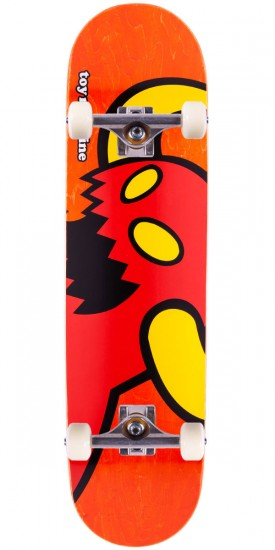 """Toy Machine Vice Monster Skateboard Complete - Orange Stain - 7.75"""""""