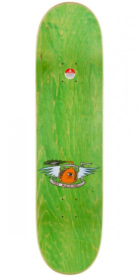 """Toy Machine Vice Monster Skateboard Deck - Brown Stain - 7.75"""""""