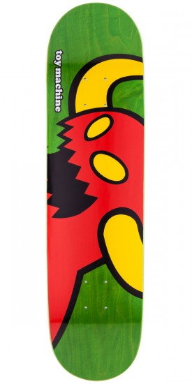 Toy Machine Vice Monster Skateboard Deck - Green Stain - 7.75""