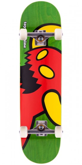 Toy Machine Vice Monster Skateboard Complete - Green Stain - 8.125""