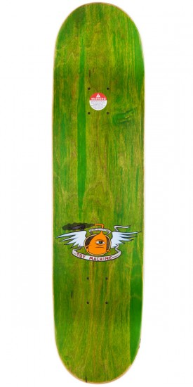 Toy Machine Vice Monster Skateboard Deck - Green Stain - 8.125""