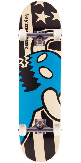Toy Machine Vice Stripes Monster Skateboard Complete - 8.375""