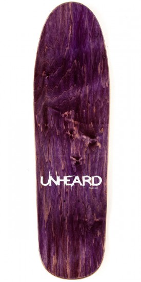 Unheard Sharp Curse Skateboard Deck - 8.8""