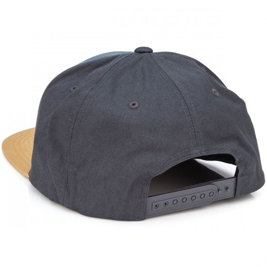 Volcom Quarter Twill Hat - Dark Khaki