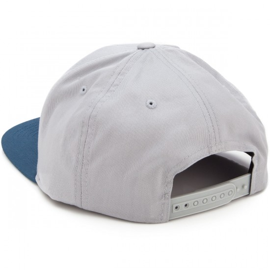Volcom Quarter Twill Hat - Grey Blue