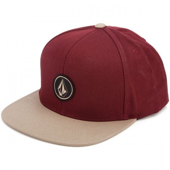 Volcom Quarter Twill Hat - Port
