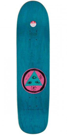 """Welcome Adam X Garuda On Son of Planchette Skateboard Complete - 8.375"""" - Teal Stain"""