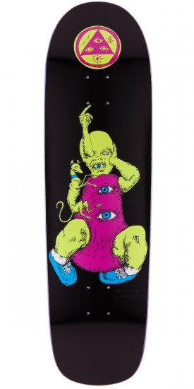 Welcome Baby On Planchette Skateboard Deck - Black - 8.8""