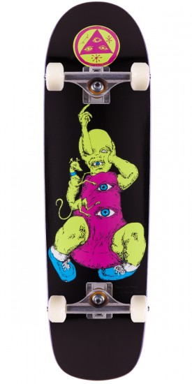 """Welcome Baby On Planchette Skateboard Complete - Black - 8.8"""""""