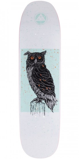 Welcome Black Beak on Son of Moontrimmer Skateboard Deck - White - 8.25""