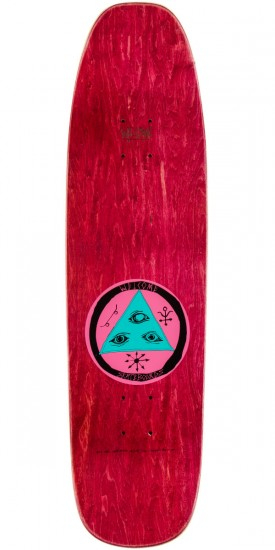 """Welcome Cage-Free Heart On Nimbus 3000 Skateboard Deck - 8.5"""" - Sage"""
