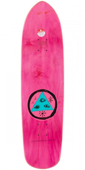 Welcome Circus Hand On Squidbeak Skateboard Deck - Blue - 8.60""