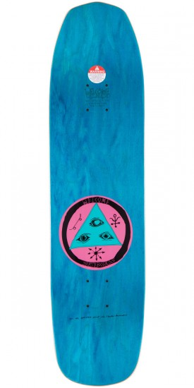 """Welcome Circus Hand On Vimana Skateboard Complete - Pink - 8.25"""""""
