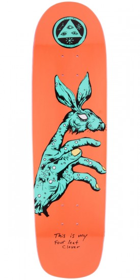 Welcome Circus Hand On Waxing Moon Skateboard Deck - 8.5""
