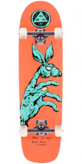 Welcome Circus Hand On Waxing Moon Skateboard Complete - 8.5""