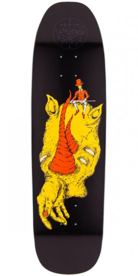 Welcome Dandy In The Underworld On Nimbus 3000 Skateboard Deck - Black - 8.50""""