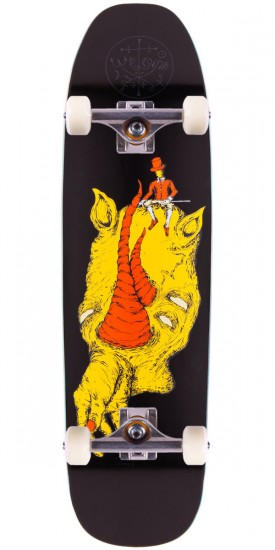 Welcome Dandy In The Underworld On Nimbus 3000 Skateboard Complete - Black - 8.50""