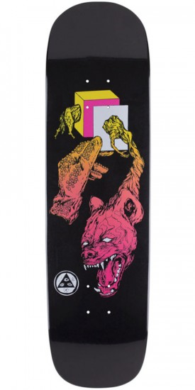 Welcome Face of a Lover on Yung Nibiru Skateboard Deck - Black Dip - 8.25""