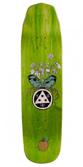 """Welcome Fairy Tale On Wicked Queen Skateboard Deck - Nora Vasconcellos - Metallic Lavender - 8.60"""""""