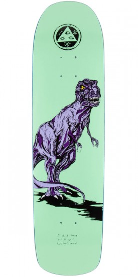 "Welcome Featherless On Eclipse Skateboard Deck - 8.25"" - Mint"